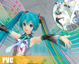 PV7540 1/7 Hatsune Miku: 10th Anniversary Version Memorial Box (PVC)