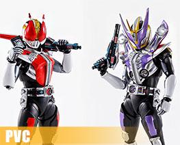 PV9987  Kamen Rider Den-O Sword Form / Gun Form (PVC)