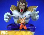 PV1348  King Kong Vegeta and Goku (PVC)