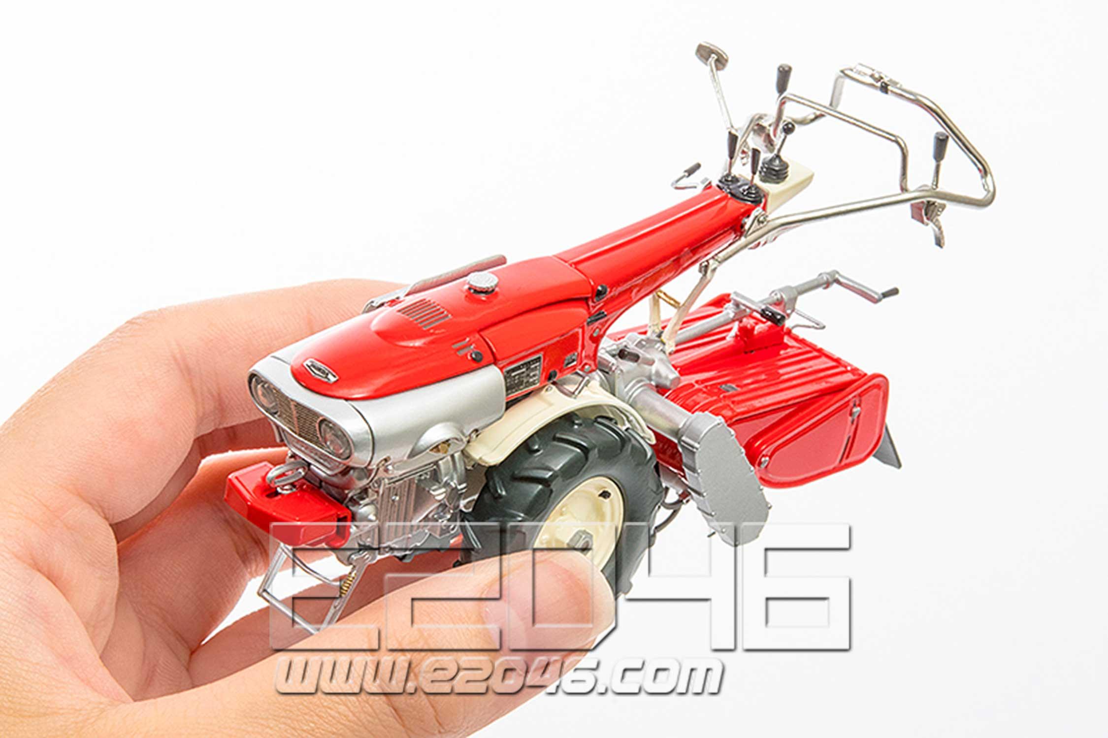 Minori with Honda F90 Tiller (PVC)