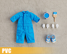 PV9963  Nendoroid Doll Clothes Set Colorful Jumpsuit Blue (PVC)