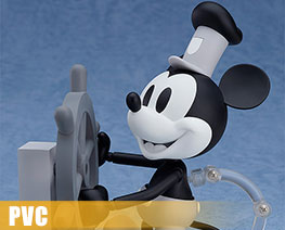 PV8293  Nendoroid Mickey Mouse 1928 Monochrome Version (PVC)