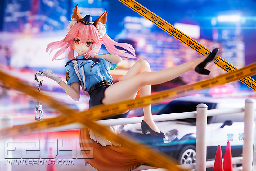 Tamamo no Mae Police Fox Version (PVC)