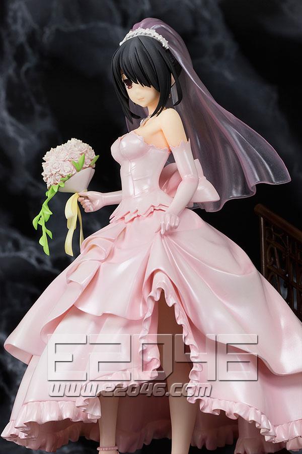 Kurumi Tokisaki Wedding Version Pink (PVC)