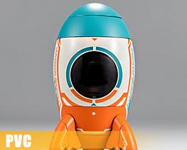PV9968  火箭機械師 (PVC)