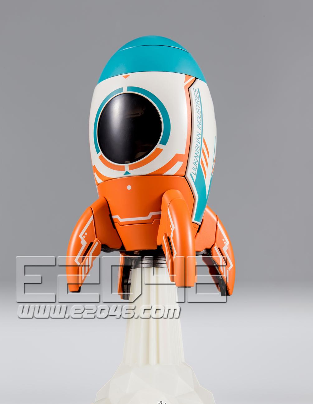 Rocket Mech  (PVC)