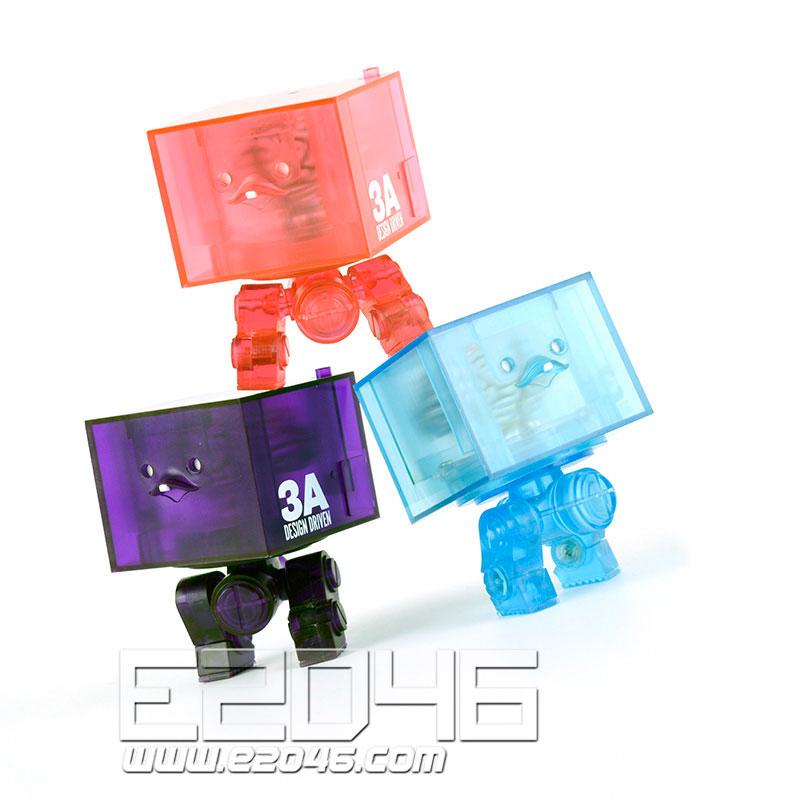 3AGO Clear Square R1 Set (PVC)