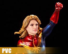 PV10790 1/10 Captain Marvel (PVC)