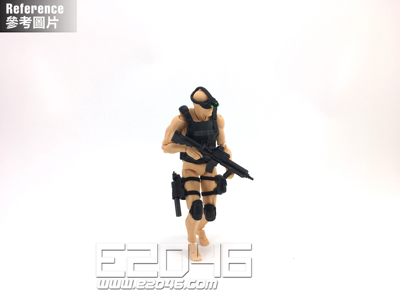 Action Figure Equipment Set B (PVC)