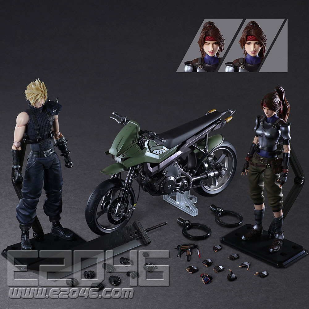 Jessie & Cloud & Bike Set (PVC)