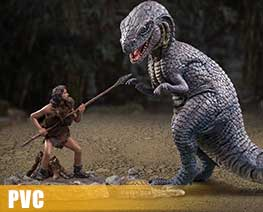 PV10376  Allosaurus VS Tumak (PVC)