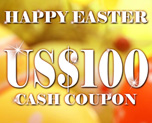 DG0008  US$ 100.00 Cash Coupon