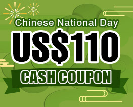 DG0034  US$ 110.00 Cash Coupon
