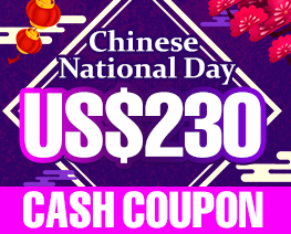 DG0023  US$ 230.00 Cash Coupon