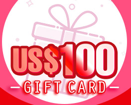 DG0032  US$ 100.00 Gift Card