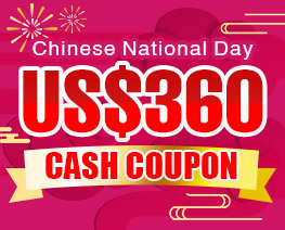 DG0036  US$ 360.00 Cash Coupon