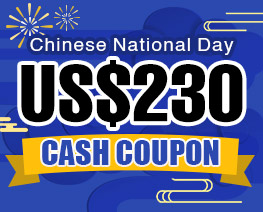 DG0035  US$ 230.00 Cash Coupon
