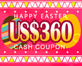 DG0030  US$ 360.00 Cash Coupon