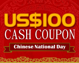 DG0016  US$ 100.00 Cash Coupon