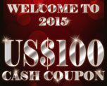 DG0004  US$ 100.00 Cash Coupon