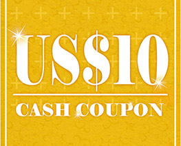 DG0006  US$ 10.00 Cash Coupon