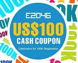 DG0014  US$ 100.00 Cash Coupon