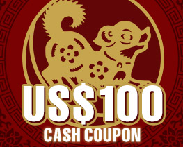 DG0012  US$ 100.00 Cash Coupon