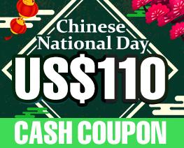 DG0022  US$ 110.00 Cash Coupon