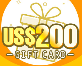 DG0033  US$ 200.00 Gift Card