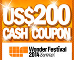DG0002  US$ 200.00 Cash Coupon