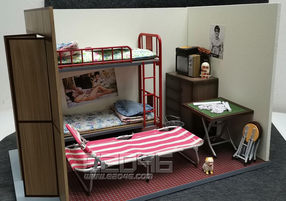 Diorama Set Traditional Hongkong Style Room