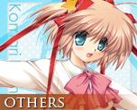 OT0362  Little Busters! Komari Cushion Cover