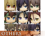 OT1525  Hakuoki Shinsengumi Kitan One Coin Grande Figure Collection 9 pieces