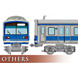 OT2432 1/150 Railway Collection Izuhakone Railway 3000 Series 3505 Formation