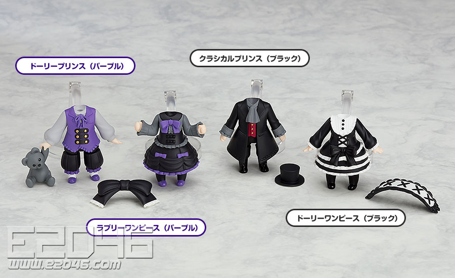 Nendoroid More Kisekae Gothic & Lolita