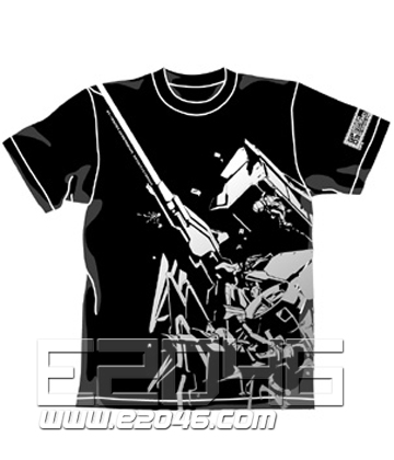 Gundam 0083 GP03 Dendrobium T-shirt Black S