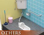 OT1710 1/12 Squat Toilet