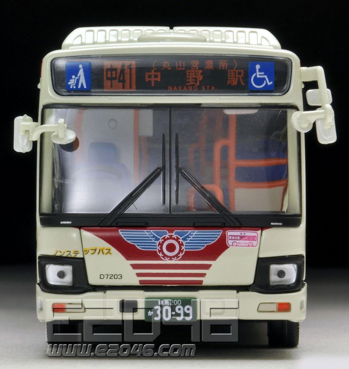 TLV-N155b Hino Blue Ribbon Kanto Bus