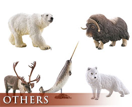 OT2261  Shin History of World Animals Model Arcti Version Set