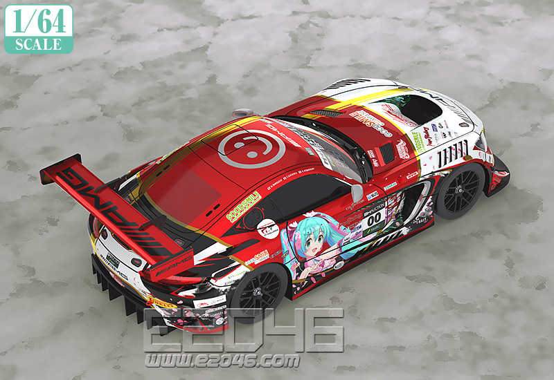 Hatsune Miku Mercedes-AMG Team GOOD SMILE 2019 SUZUKA 10Hours Version