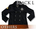 OT0124  Gundam Zeon Design Pea Coat Black L