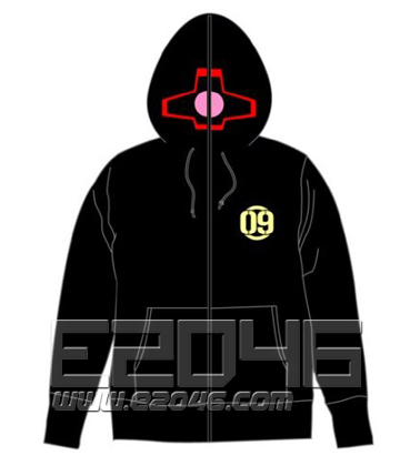 Gundam Dom Full Zip Parka Black XL