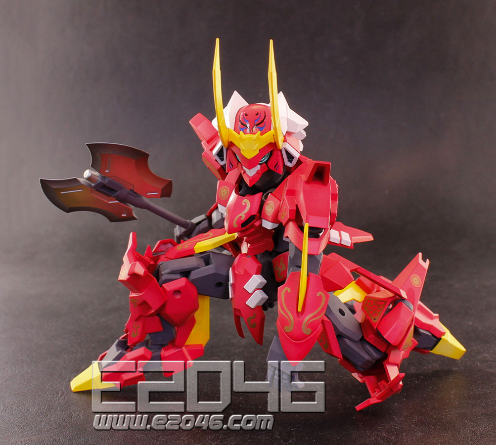 PLA-ACT 11 Takeda Armor Decoration Version
