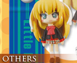 OT0021  Little Busters! Ecstasy Mascot Strap C (Saya and Mio)