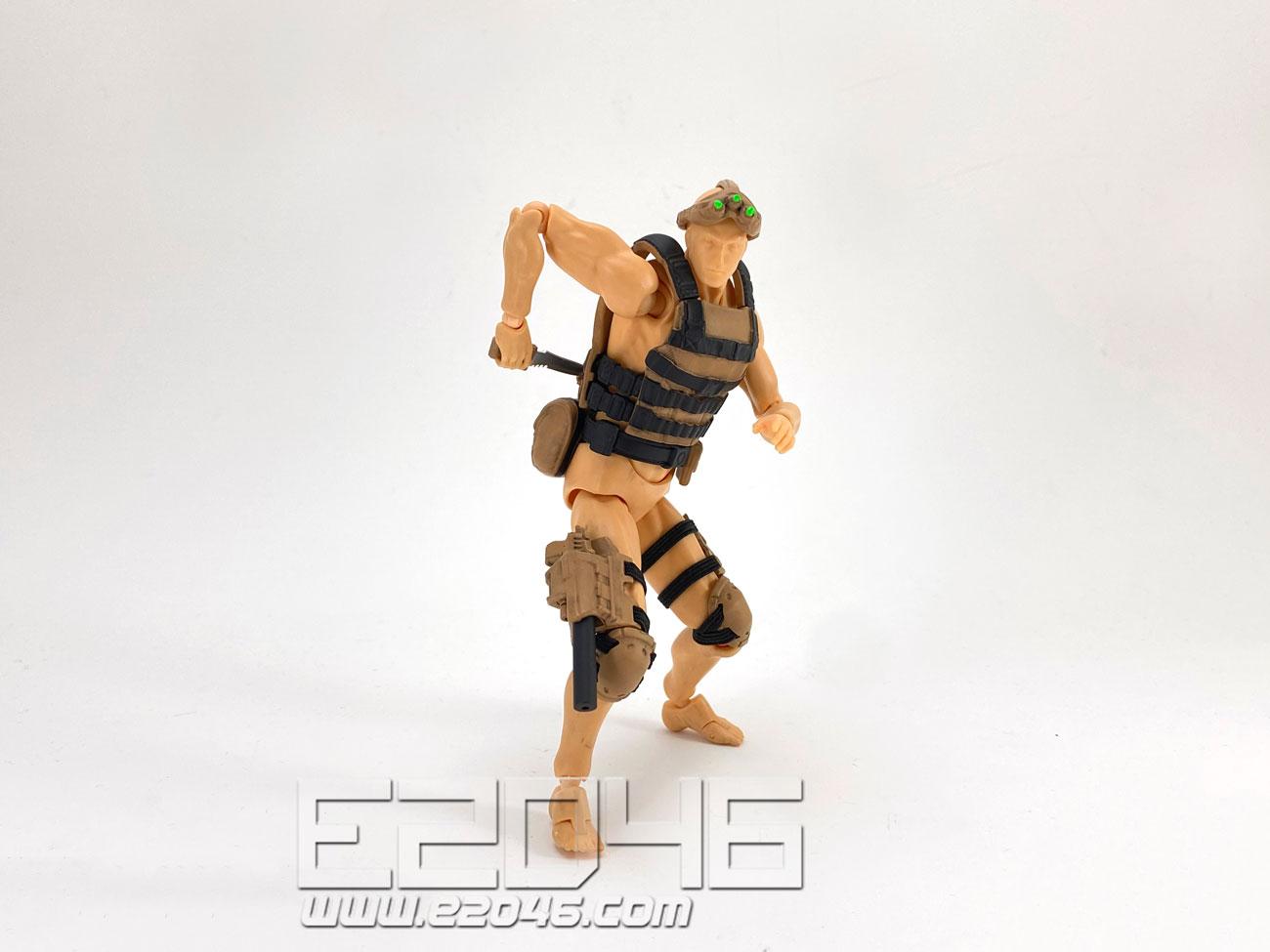 Action Figure Equipment Set B Desert Version