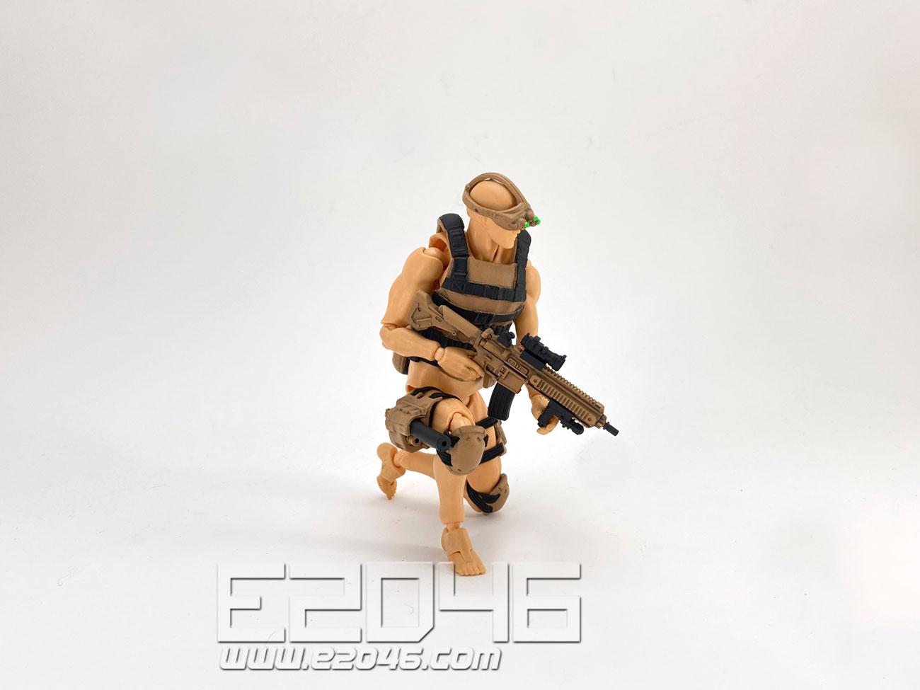 動作人物裝備套裝 B 沙漠版