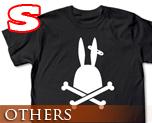 OT0268  监狱兔 骷髅 T-Shirt S