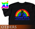 OT0287  Evangelion Rainbow & Eva-01 T-Shirt Black XL
