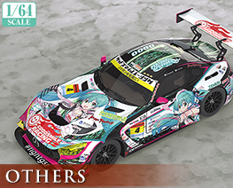 OT2562 1/64 Hatsune Miku AMG 2019 super GT Version