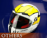 OT0510  Macross Motorcycle Helmet Roy Focker Type